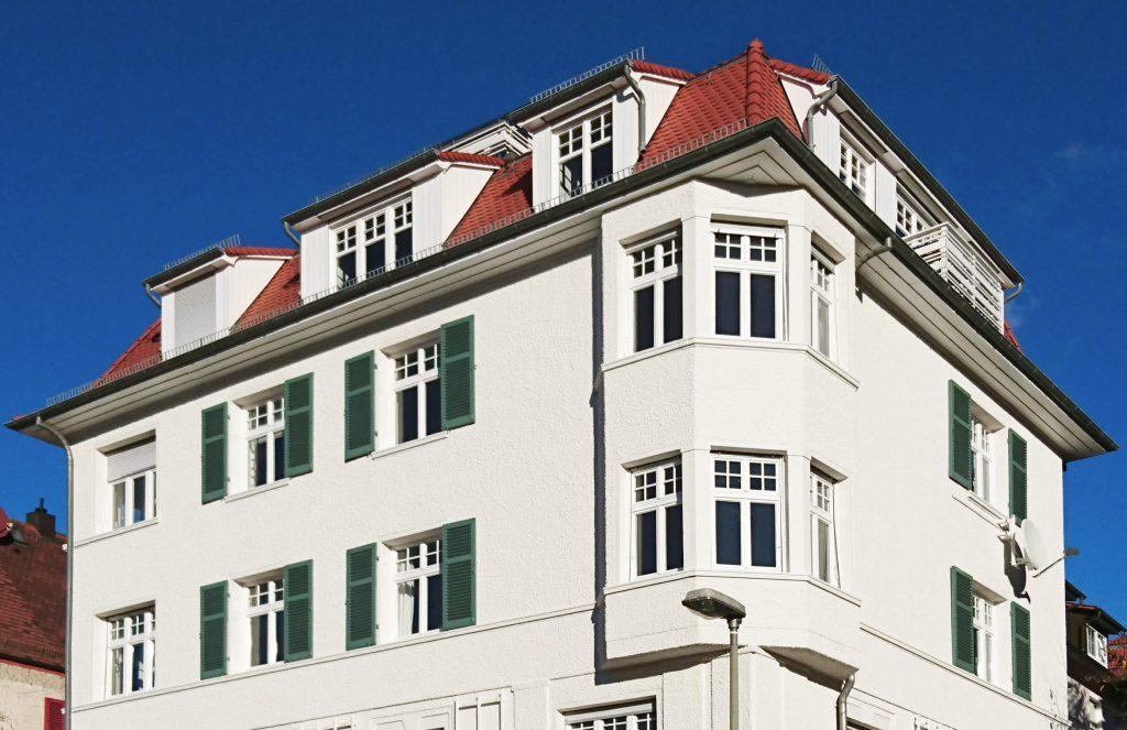 Fassadensanierung auf dem Haigst Stuttgartt