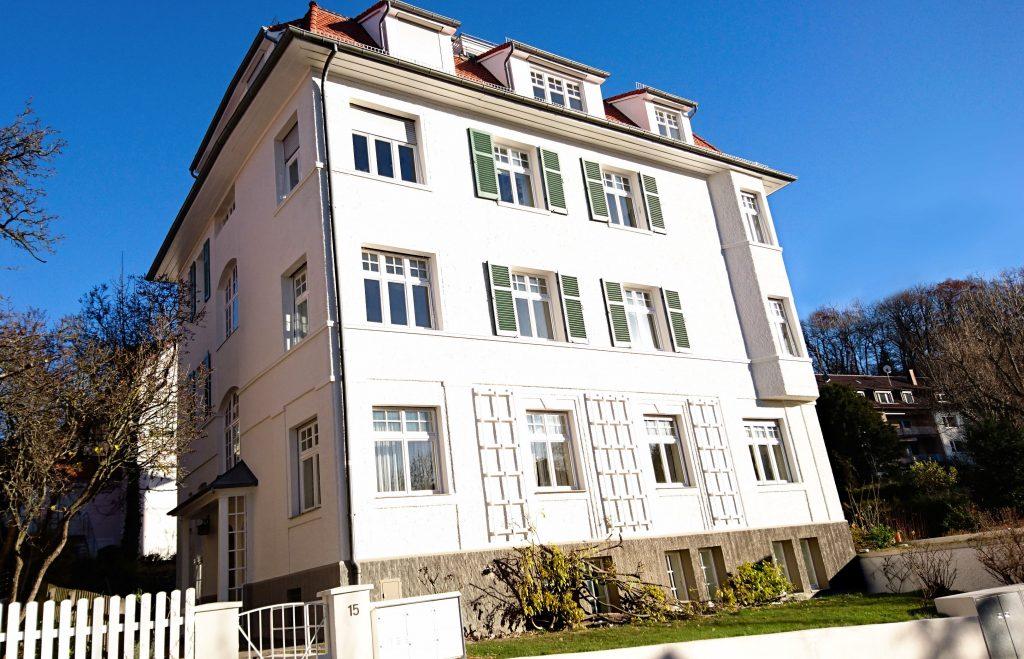 Fassadensanierung auf dem Haigst Stuttgart