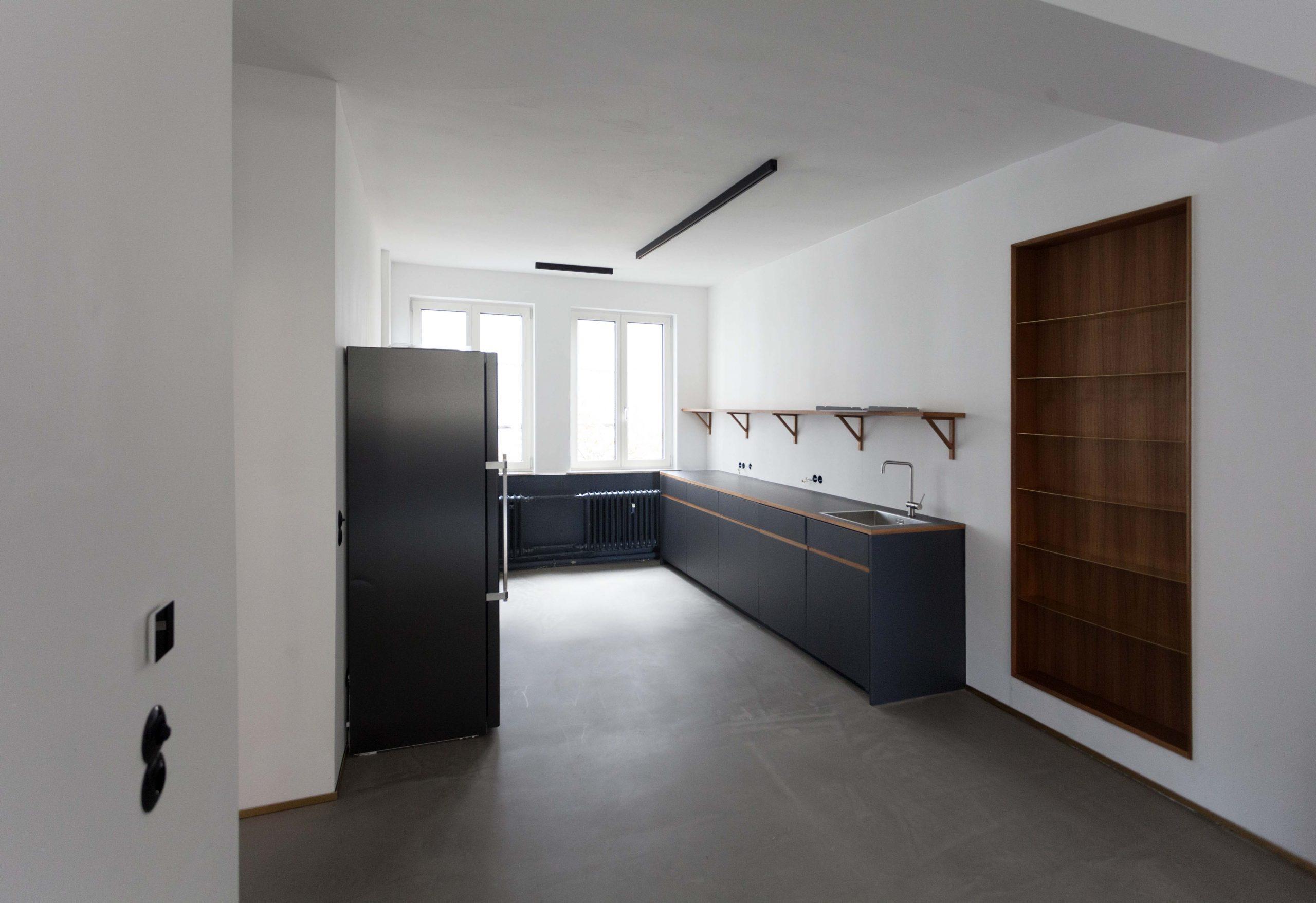 Küche im Büro nach der Renovierung