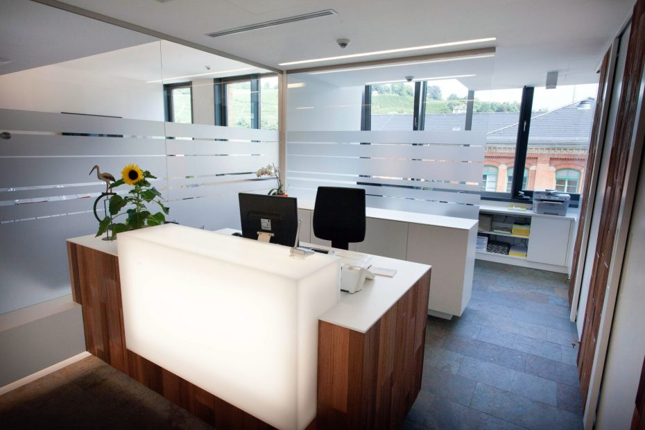 Umbau einer Büroetage in eine Arztpraxis in Esslingen 1